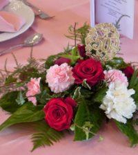 table decor wedding golden weddings flowers pink deco strauss roses 627546.jpgd