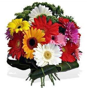 bouquet-de-gerberas - Arranjos Florais