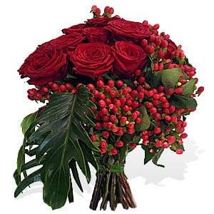 bouquet-de-rosas-encarnadas-premium-m - Arranjos Florais