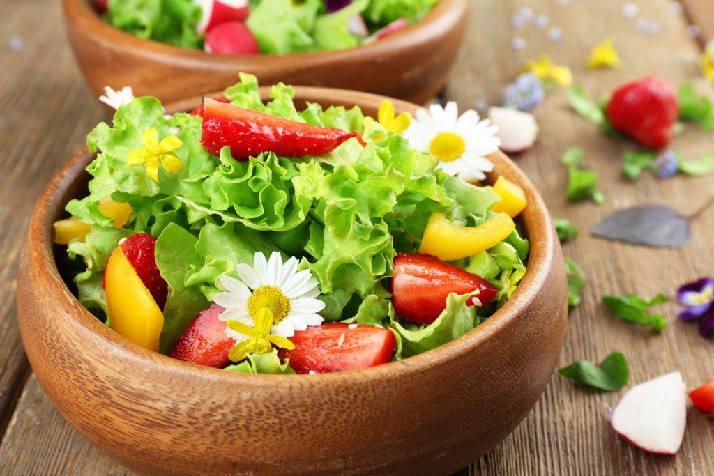 consumo de flores comestiveis - Flores Comestíveis