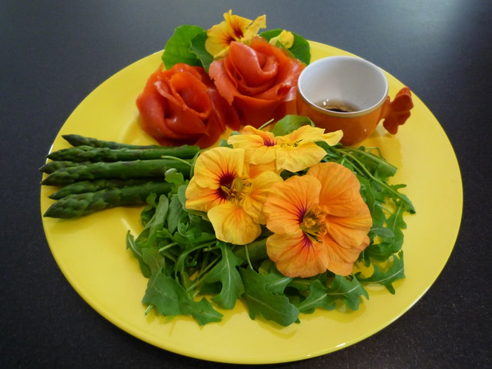 Flores comestiveis foto - Flores Comestíveis