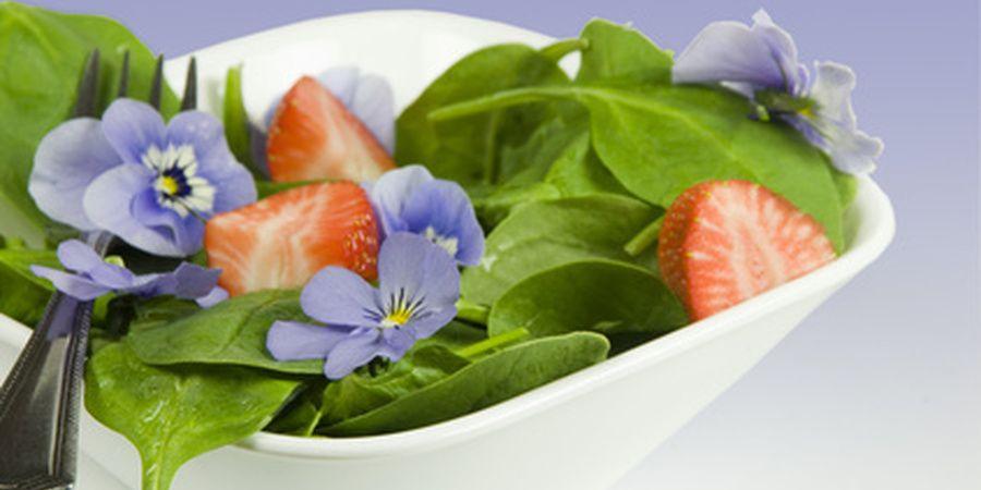 Violeta (Viola odorata) - Flores Comestíveis