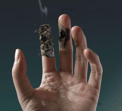 Centro de tratamento de fumagem